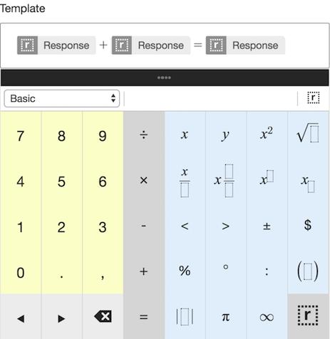 Math Formula – Learnosity Author Guide
