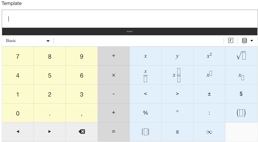 Using Math Variables in the Dynamic Content Data Table – Learnosity